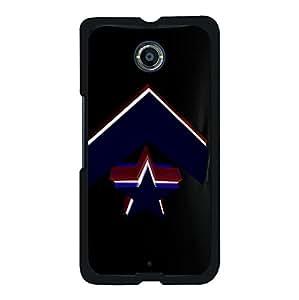 Fashion Design Luxury Converse Logo Cover Case for Google Nexus 6 Trend Sneaker Series Phone Case