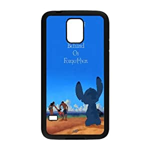 FOR Samsung Galaxy S5 -(DXJ PHONE CASE)-Ohana Means Family, Funny Stitch-PATTERN 15