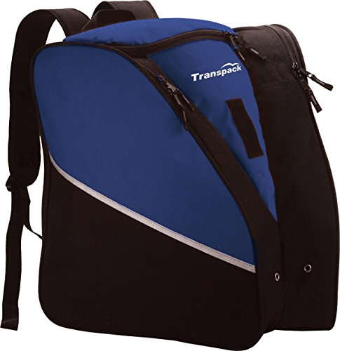Transpack Alpine Boot Jr Ski Boot Bag Backpack Blue