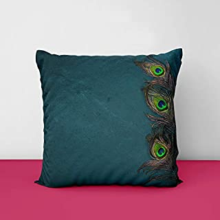 41gvCom1GoL. SS320 Mor Pankh Designs Printed Square Cushion Cover