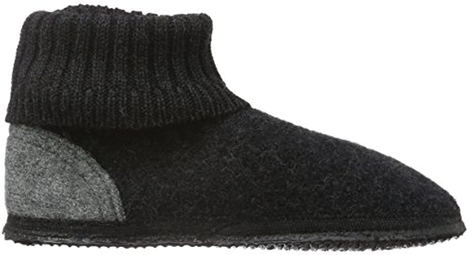 Giesswein Kramsach, Unisex Kids' Low-Top Slippers, Grey (028 / Nachtgrau), 7 Child UK (24 EU)
