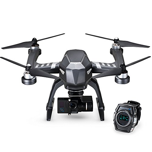 Follow Me Sports Drone - Hands-Free XWatch Controls With 4K Ultra HD Sports Camera - Shoot Your Action In Epic Clarity And Detail
