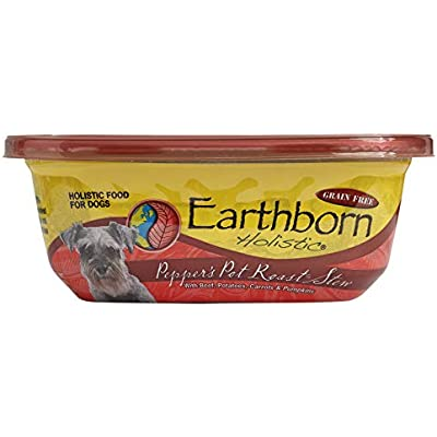 Earthborn Holistic Peppers Pot Roast Stew Grain Free Moist Dog Food, 8 Oz, Case Of 8