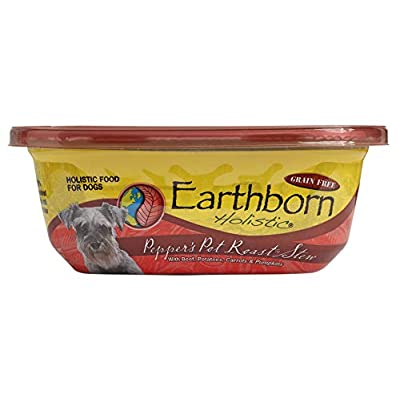 Earthborn Holistic Peppers Pot Roast Stew Grain Free Moist Dog Food, 8 Oz, Case Of 8