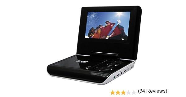 Sylvania SDVD7047 - Televisor portátil de 7 pulgadas con reproductor de DVD: Amazon.es: Electrónica