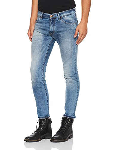 Pantaloni blue Larston Blu Uomo Mick Wrangler 8qZwO5n