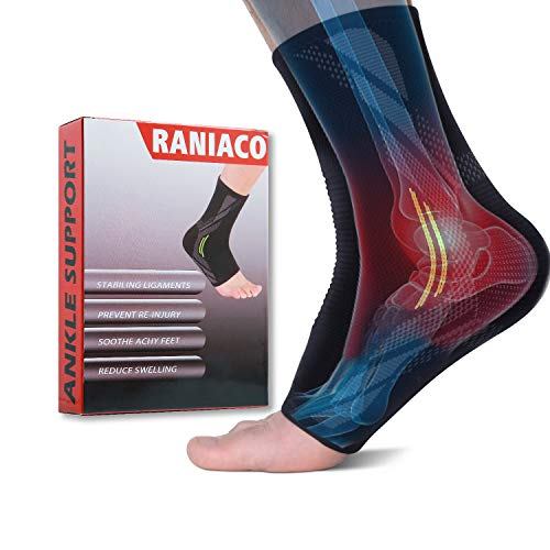 """3D Ankle Braces for Men & Women Plantar Fasciitis Socks Arch Compression Support Foot Pain Relief,Sprains Swelling Achilles Tendonitis-""""Perfect Fit """"Warranty"""