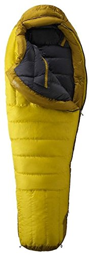 Marmot Col Membrain -20f 800 Down Regular Sleeping Bag - 2015 Model , Yellow Vapor/green Wheat, Left Hand
