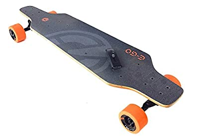 Yuneec E-GO Electric Skateboard + EVERYTHING YOU NEED SKATE BUNDLE. Includes GoPro HERO Action Camera + Jaws Flex Clamp + Head Strap + Wrist Strap + Skateboard Mount Kit (1X Mount, 1X Tether, 1X Buckle) + Handheld Monopod + Microfiber Cleaning Cloth