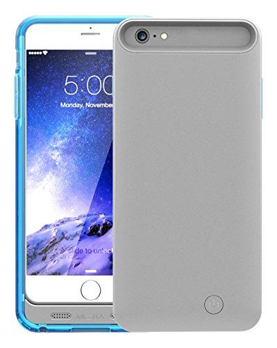 TAMO iPhone 6 Plus/6s Plus Extended Battery Case, Blue, 4000 mAh