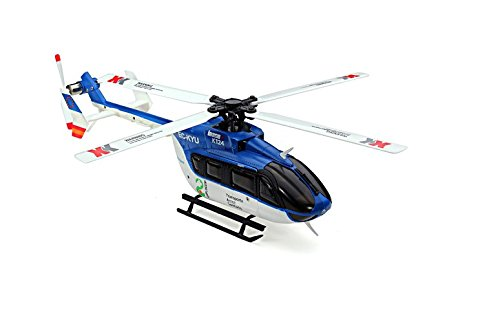 XK K124 6CH Brush less EC145 3D6G System RC Helicopter RTF