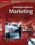 Cambridge English for Marketing, Nick Robinson, 0521124603