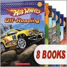 Lataa PDF-tiedostoja ilmaiseksi Hot Wheels Reader Mega Pack (8 Books) (Scholastic Reader Level 1, Cave Race!; Drag Race!; Monster Trucks!; Off-Roading; Race the World!; Street Heat; Volcano Blast!; Wild Rides) 0545354595 PDF MOBI