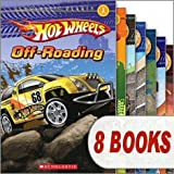 Hot Wheels Reader Mega Pack (8 Books) (Scholastic Reader Level 1, Cave Race!; Drag Race!; Monster Trucks!; Off-Roading; Race the World!; Street Heat; Volcano Blast!; Wild Rides)