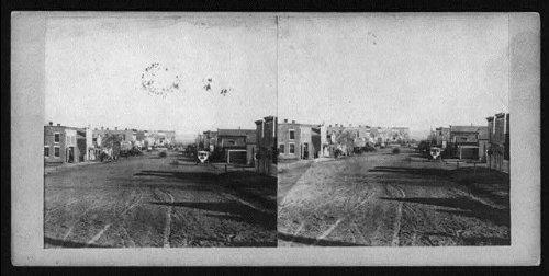 Photo: Farnham Street,Omaha,Nebraska,NE,Douglas County,c1862 ()