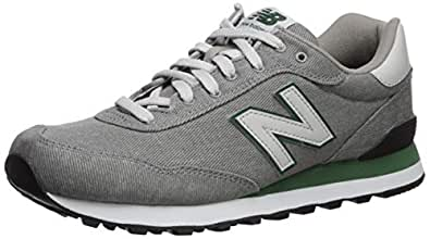 New Balance Men's 515v1 Sneaker, Marblehead/Team Forest Green, 7 D US