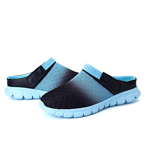 Women Shoe Beach Comfortable Lightweight Summer Clog Summer Sandal Nasonberg Men Unisex Mesh Clog Blue Uqwxgq7I1