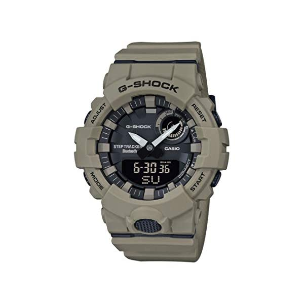 Casio Reloj Analógico-Digital para Hombre Correa en Resina GBA-800UC-5AER 2