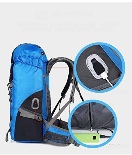 Escursione Di Zaini Capacità Grande Con 40l Presa Donna Impermeabile B Uomo Escursionismo Zaino Viaggio Per Da E Usb c 4wx0q7n5p
