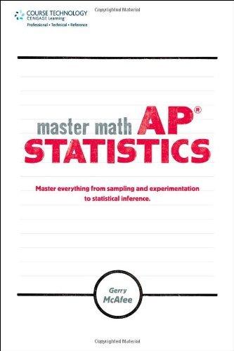 Master Math: AP Statistics by Gerry McAfee (2010-05-26)