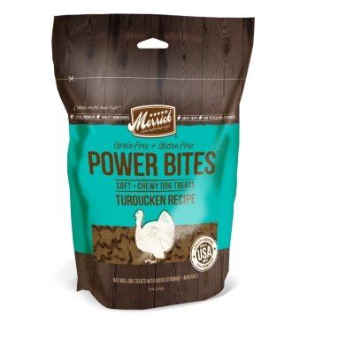 Merrick Pet Treats MP78517 Power Bites - Turducken