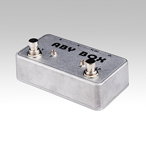TTONE Hand Made ABY Selector Combine Pedal Guitar Switch Box TRUE BYPASS Amp Guitarra Pedals AB/Y