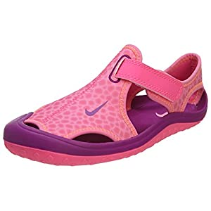 Nike Sunray Protect (Little Kid) Pink Pow/Total Orange/Bold Berry 3 Little Kid M