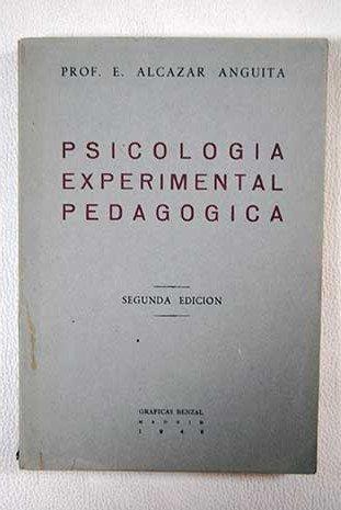 Resumen de Psicología experimental pedagógica