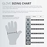 Work Glove Fuse Max Nylon Micro Foam Nitrile Gloves for Work Safety Protection Light Weight Women and Men – 3 pairs