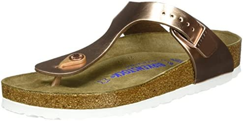 Birkenstock Gizeh Metallic Thong Sandal #VonMaur | awesome