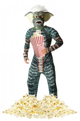 Rubie's Gremlin Stripe Fancy Dress (Standard). This official Gremlins costume is ideal for Halloween or 80s parties. You've watched the movie, now become a gremlin! Standard or X-Large.