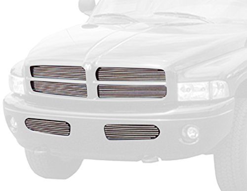 1500 Insert Grille Carriage (Carriage Works 40953 Black Billet Aluminum Grille Insert)