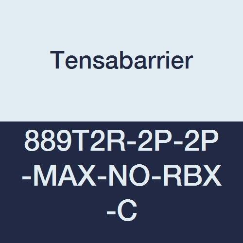 Tensabarrier 889T2R-2P-2P-MAX-NO-RBX-C Post, 2