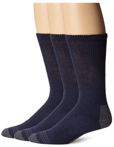 Dockers Soft Touch Khaki Pants - Dockers Men's 3-Pack Non-Binding Cushion Comfort Crew Sock, Navy, Shoe Size: 6-12 Size: 10-13