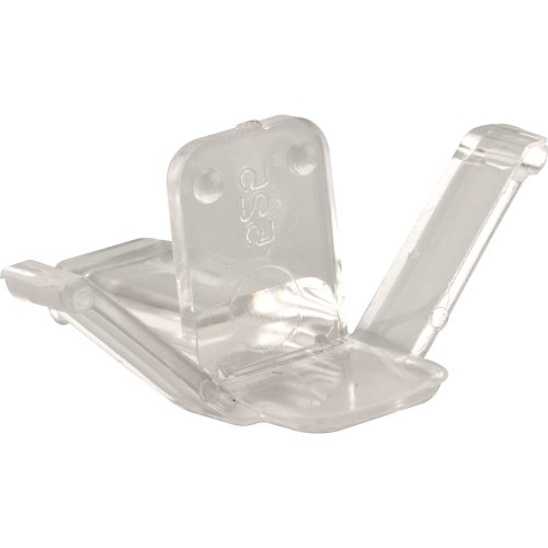 Slide-Co 182891 Window Screen Retainer Clips, (#524) Clear Plastic,(Pack of 4) ()