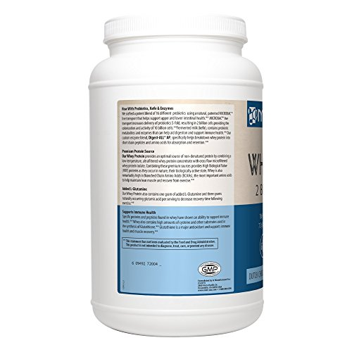 MRM - All Natural Whey Protein Powder, With Essential Amino Acids, BCAAs & Glutamine for Maximum Muscle Growth & Development (Dutch Chocolate), 32 Ounce (Packaging May Vary) by MRM (Image #2)