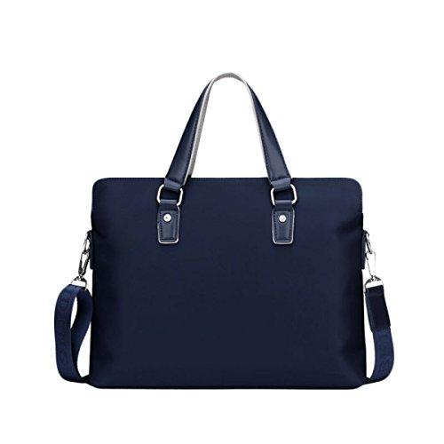 Business Oxford Bag Diagonal Briefcase Pouch Cross Section Casual Shoulder Package Bag Bag Diagonal Men Bag Blue Bag grgx7