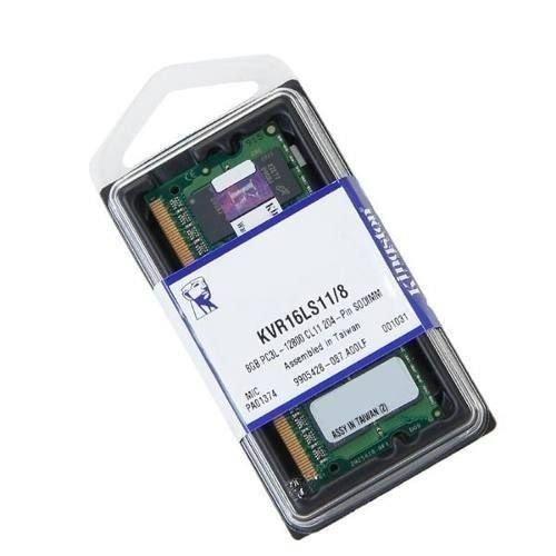MEMORIA KINGSTON NOTEBOOK KVR16S11/8 - 8GB 1600MHZ DDR3 NON-ECC CL11 SODIMM