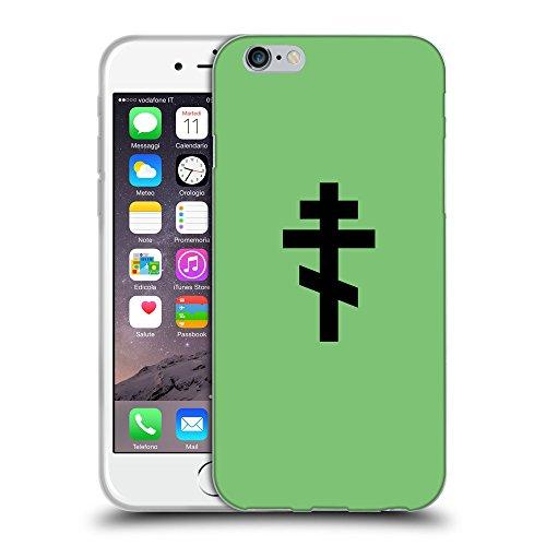 "GoGoMobile Coque de Protection TPU Silicone Case pour // Q08510629 Religion 15 Pastel Vert // Apple iPhone 6 4.7"""