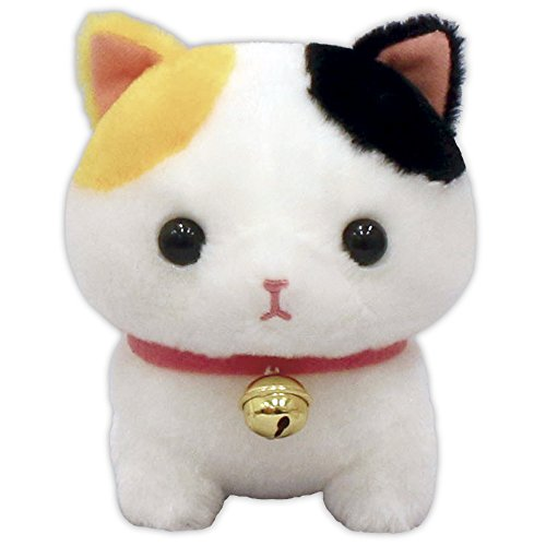 Amuse Cat Neko With Brass Bell Kawaii Plush Toy 5