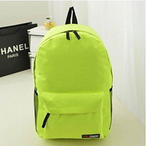 El más nuevo paño de Oxford de viajes Corea del totalizador de la manera portable de los zapatos de la bolsa de ocio bolsa de almacenamiento, 44 ??* 32 * 13cm, Green2 Green2
