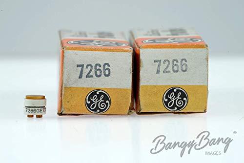 (2 Vintage General Electric 7266 Ceramic-Metal Small Signal Diode Detector- BangyBang)