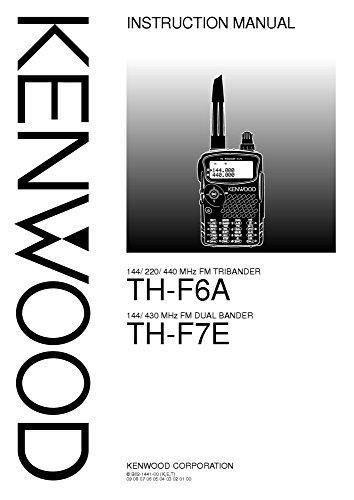 Transceiver Manual - Kenwood THF-6-A Transceiver Owners Instruction Manual