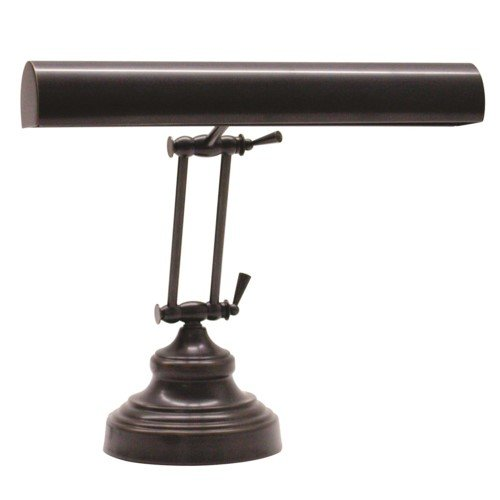 House Of Troy AP14-41-91 Advent Collection 12-Inch Adjustable Piano/Desk Portable Lamp, Oil Rubbed Bronze by House of Troy