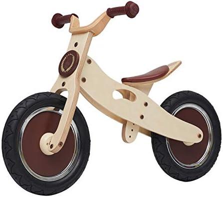 Bicicleta sin pedales Bici Bicicleta de Empuje de Madera niños y niñas, Bicicleta de Entrenamiento para 2/3/4/5/6 años (Color : C): Amazon.es: Hogar