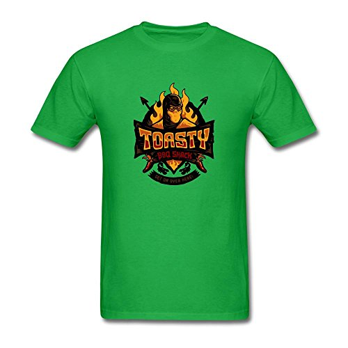 Price comparison product image Men's Scorpion Toasty Bbq Short Sleeve T-Shirt