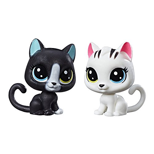 Littlest Pet Shop Black & White Kitten BFFs