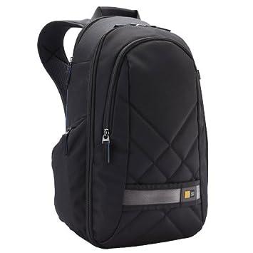 Case Logic CPL108K Sac à dos nylon avec Protège pluie intégré pour Réflex + 2,3 Objectifs + Accessoires + Emplacement pour tablette pc Noir
