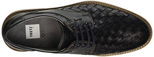FRETZ men Locarno - Zapatos Derby Hombre Negro
