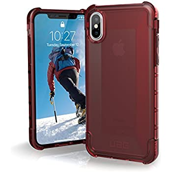 URBAN ARMOR GEAR UAG iPhone Xs/X [5.8-inch Screen] Plyo Feather-Light Rugged [Crimson] Military Drop Tested iPhone Case